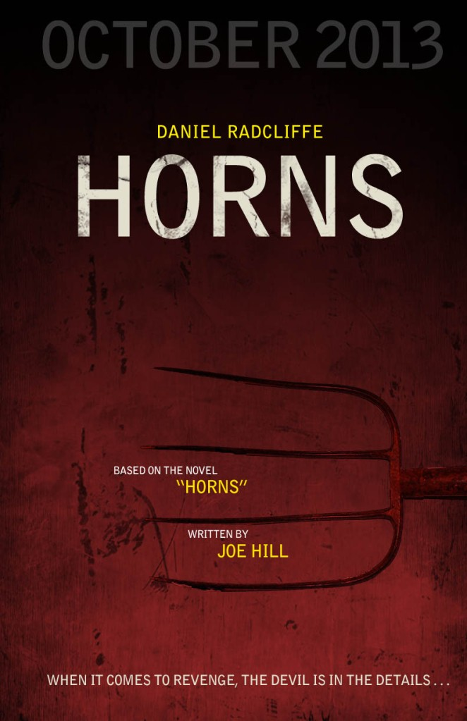 Horns Movie Poster | Sarah Vrdoljak's Portfolio Horns Movie Poster